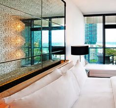 the w hotels bed