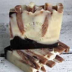 Chocolate Truffle Artisan Handmade Soap Bar
