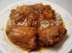 Crock Pot Chinese Chicken with Pineapple Recipe