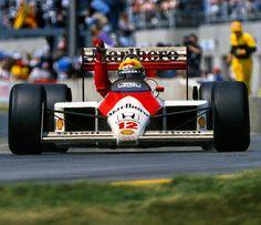 """#canadagpmemories Ayrton Senna wins the 1988 Canadian GP in his McLaren MP4/4 #ayrtonsenna #mclarenf1 #montreal #mclaren #f1 #ayrtonsennadasilva #ayrtonsenna #sennasempre #canadiangrandprix #canadiangp #victory #legend (at Gilles..."