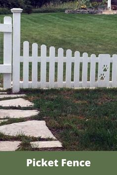 Cheap Landscaping Ideas, Landscaping With Rocks, Front Yard Landscaping, Fence Ideas, Gate Ideas, Dog Fence, Garden Paths, Garden Art, Garden Landscape Design