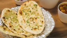 Garlic Naans Recipe In Tawa - Eggless Naan Recipe Without Oven and Tandoor