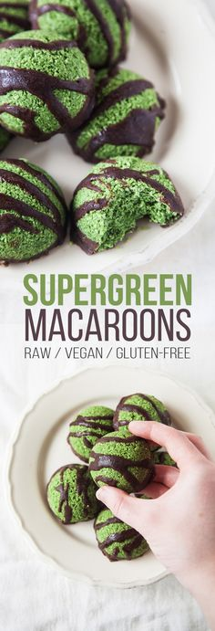 Raw Supergreen Macaroons                                                                                                                                                                                 More