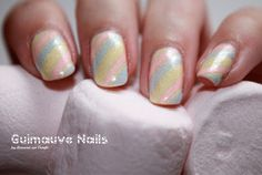 Marshmallow Nails by diamant sur l'ongle