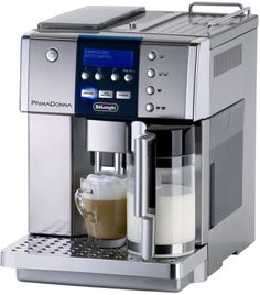 DeLonghi coffee maker allows you to personalize your coffee experience like never before. Very interesting, don't you think?
