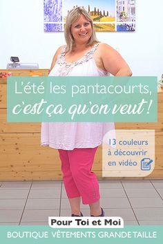 Pantacourts 13 coloris différents. #pantacourt #couleurs #vêtements #coton #confrot #mode