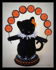 Harlow The Sweetest Little Black Halloween Kitty