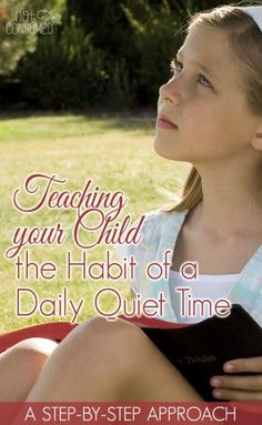 As with everything in life, parents are responsible for teaching and discipling their children. The habit of a daily quiet time is no exception.  I'll walk you through our step-by-step approach. It's much more simple than you might imagine!