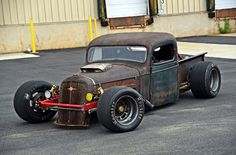 Believe it or not, this 1936 Chevy started out as a racecar chassis, and originally, the builder was going to buy a Prius!
