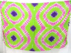 green and pick tie-dye sarongs $4.95 - http://www.wholesalesarong.com/blog/green-and-pick-tie-dye-sarongs-4-95/