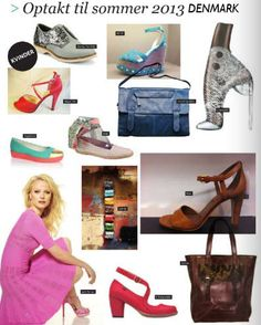 El Naturalista Colibri Style (new in summer 2013) featured in the Danish SKO SHOES AND MORE