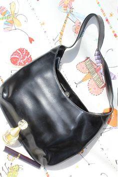 CELINE  Handtasche original  wohl von treasuresmakeshappy auf Etsy