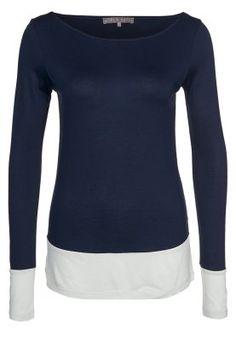 mint - Langærmede T-shirts - blå