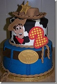 Toy Story birthday cake. this would be cute for eli's 2nd bday