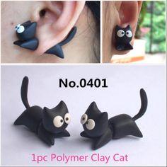 1pc-Stereoscopic-3D-Rabbit-Dinosaur-Cat-Dog-Horse-Impalement-Earring-8-Style