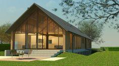 Afbeeldingsresultaat voor architectuur schuurwoning