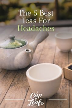 The 5 Best Teas For Headaches Cup & Leaf - Remedies Tea For Migraines, Teas For Headaches, Healthy Diet Tips, Healthy Life, Healthy Food, Natural Remedies For Gerd, Health And Fitness Magazine, Health Fitness, Daily Health Tips