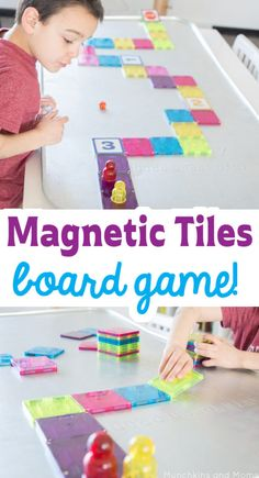 Magnetic Tiles Board Game