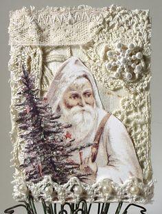 Trash to Treasure Art: Christmas ATC's