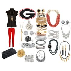 University of Georgia Game Day Jewels  www.stelladot.com/laurenduncan