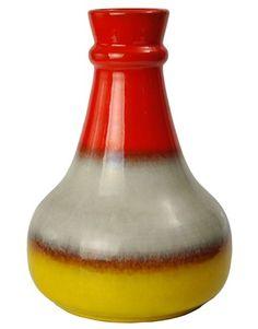 1950s Large Vintage Italian Studio Pottery Vase