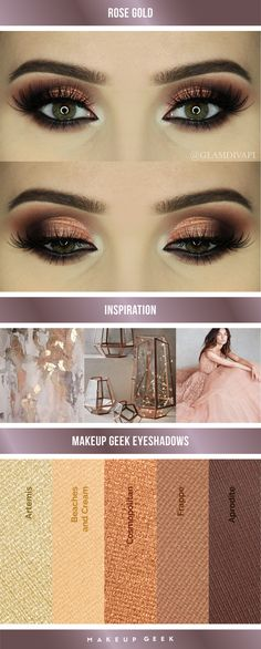 Makeup Geek x MannyMUA Palette look done by glamdiva Pretty Makeup, Love Makeup, Makeup Tips, Beauty Makeup, Makeup Looks, Makeup Ideas, Gorgeous Makeup, Kiss Makeup, Hair Makeup