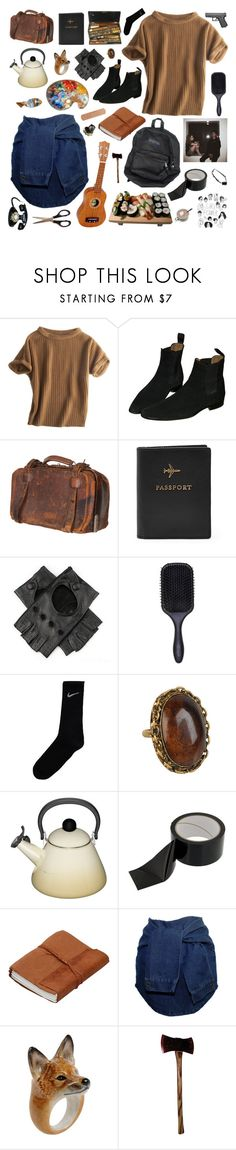 """""""memories turn to dust"""" by child-of-the-galaxy ❤ liked on Polyvore featuring Calypso St. Barth, Jayson Home, FOSSIL, Épice, Denman, NIKE, Forever 21, Le Creuset, Nach and Forum"""