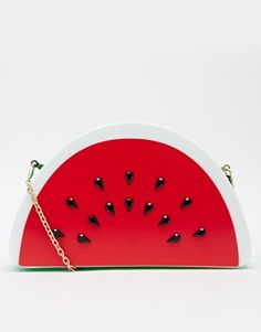 Skinnydip Watermelon Clutch Bag