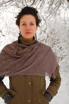 Ravelry: Hrim shawl pattern by Bristol Ivy, in Frost Fair collection