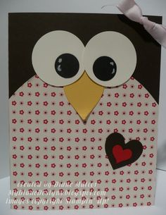 Big Owl - http://mydianedesigns.blogspot.com/, Punch Art, Love Specialty, Stampin' Up!