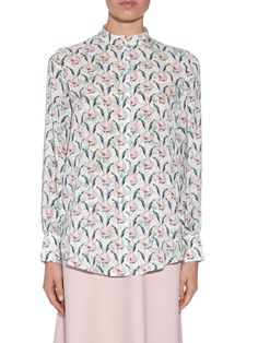 Temple floral-print silk top | Mother Of Pearl | MATCHESFASHION.COM UK
