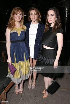 Kimberly Van Der Beek, Majandra Delfino and Zoe Lister-Jones attend the after party for the 2015 Los Angeles Film Festival Premiere Of Mister Lister Films' 'Consumed' at Hotel Figueroa on June 15, 2015 in Los Angeles, California.