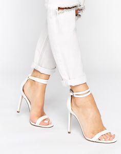 Image 1 ofASOS HOAXER Heeled Sandals