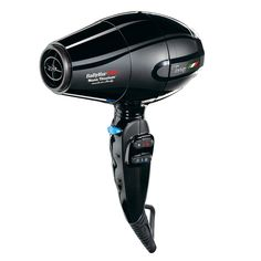 Personal Edge : BaByliss Pro BABNT5510NC Bambino 5510 MicroTravel Hair Dryer - Black