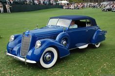 1938 Lincoln Model K Brunn Convertible Victoria K9002