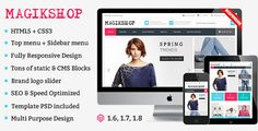 Download Free              Shop Responsive Magento Theme            #               store