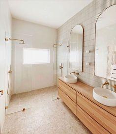 Bathroom Renos, Laundry In Bathroom, Master Bathroom, Remodled Bathrooms, Bathroom Basin, Bathroom Renovations, Beautiful Bathrooms, Modern Bathroom, Colorful Bathroom