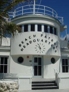 Beach Patrol Headquarters (1934) South Beach, Miami. Architecte : Robert Taylor. ©GB