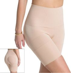 Kylie directly linked to this shapewear product from Spanx, the ASSETS Red Hot Label by Spanx Flat Out Flawless Mid-Thigh Body Shaper, sold conveniently at Kohl's. | Kylie Jenner Is Actually Super Into Spanx, You Guys