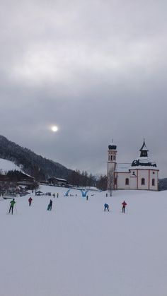 cross-country skiing in an amazing location - in Places Around The World, Around The Worlds, Tirol Austria, Visit Austria, Cross Country Skiing, Central Europe, Out Of This World, Homeland, Alps
