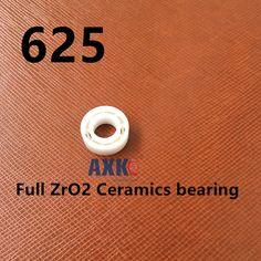 P0 full ceramic ball bearing 625 ZrO2 PTFE  Size: 5X10X4 mm #Affiliate