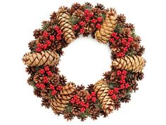 Pinecone finery