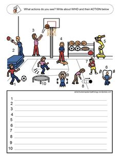 Subject and Verb Loaded Worksheets-Set 4 from Adventures in Speech Pathology.  Pinned by SOS Inc. Resources @sostherapy.