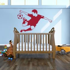Style and Apply Soccer Star Sport Wall Decal
