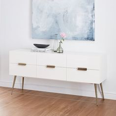 Hayworth 6-Drawer Dresser Love this | Scandinavian Design Interior Living | #scandinavian #interior