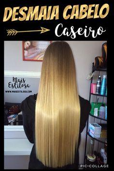O VERDADEIRO DESMAIA CABELO E TOTALMENTE CASEIRO Beauty Recipe, Hair Photo, Spa Day, Cool Hairstyles, Hair Care, Shampoo, Hair Beauty, Long Hair Styles, Health