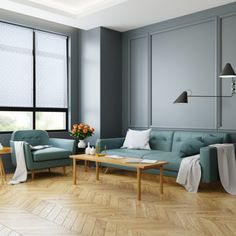 Spruce up your living room with various shades of green and subtle patterned shades. With an array of available prints and colors, roller shades can impart an elegant, modern touch to any room. Roll into style today! Solid Wood Flooring, Engineered Wood Floors, Budget Blinds, Green Sofa, Black Table Lamps, Luxury Vinyl Tile, Vinyl Tiles, Roller Shades, Green Rooms