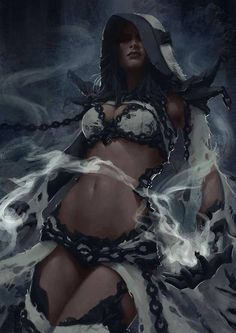 White Mystic Sorceress