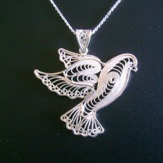 Dove necklace sterling silver and freshwater pearl bird necklace dove necklace sterling silver and freshwater pearl bird necklace peace dove t94952 jewelry pinterest bird necklace silver and peace mozeypictures Images