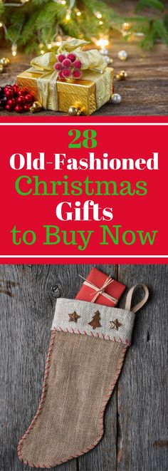 28 Old-Fashioned Christmas Gifts to Buy Now - Take a Look!